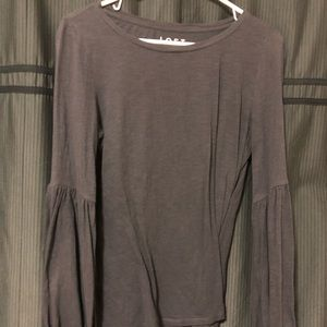 LOFT Tee with Bell sleeves